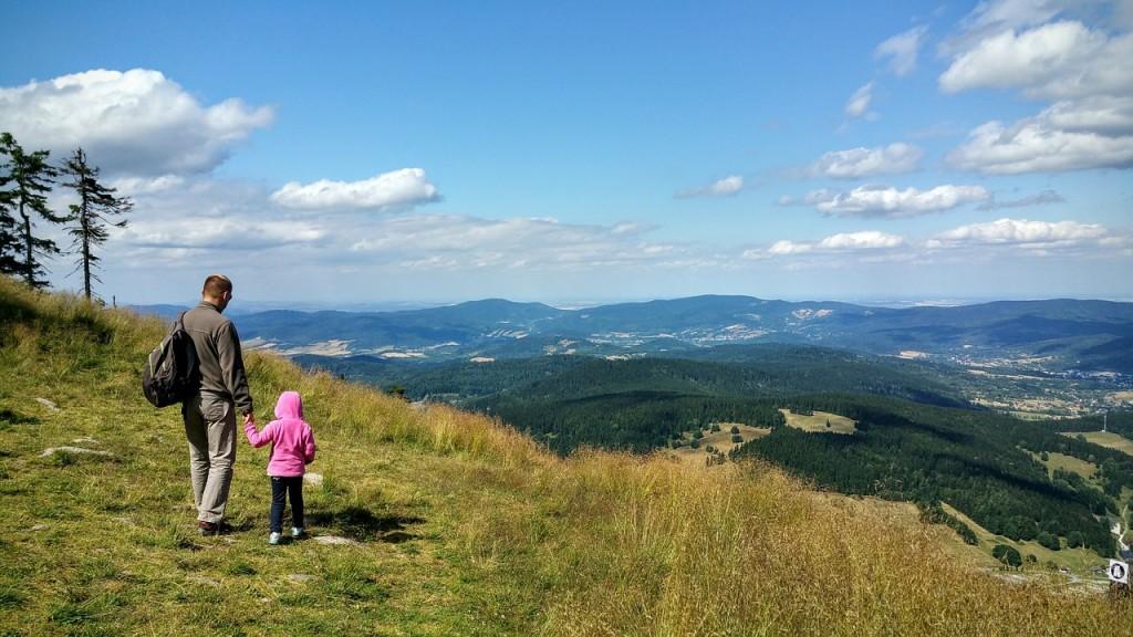 Wycieczka w góry z dzieckiem.